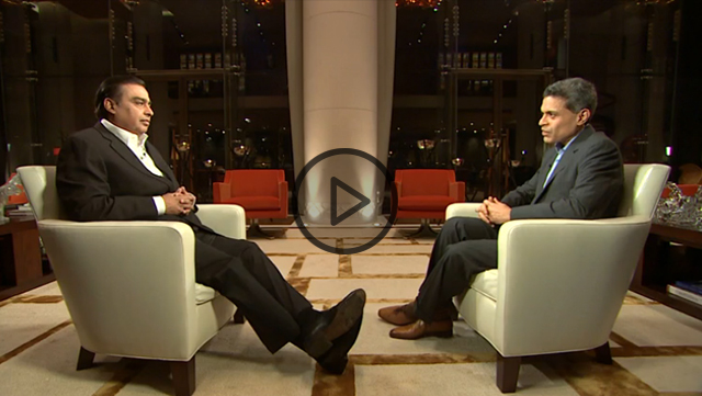 Full text of the Mukesh Ambani interview on